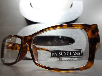 MENS Women Cool Contemporary Modern Style Clear Lens EYE ...