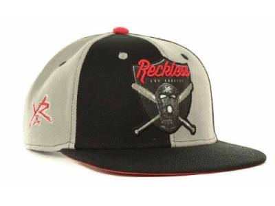 Young & Reckless Raiders Black Wool Blend Snapback Hat ...