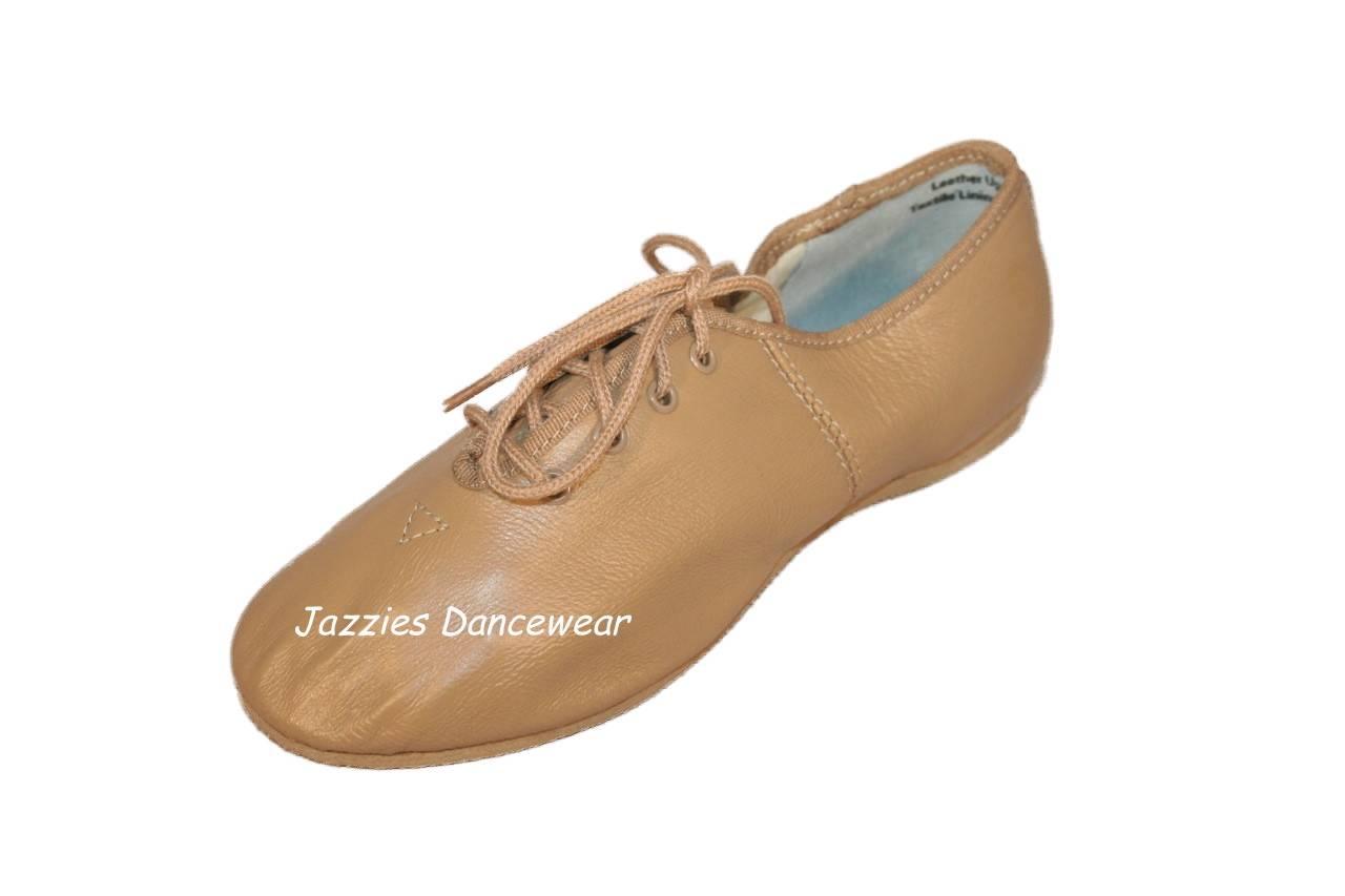 Tan Jazz Shoe Size