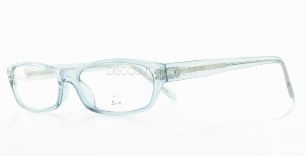 SOHO 58 Eyeglasses Clear Plastic Blue Frames WHOLESALE ...
