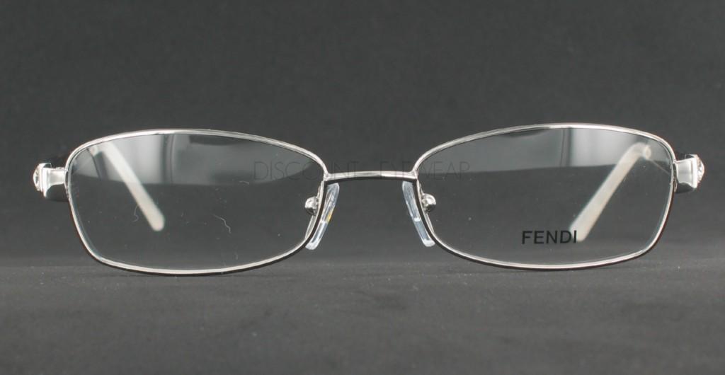 Eyeglass Frames With Bling : FENDI F769R 769 033 Silver Womens Designer EYEGLASSES ...