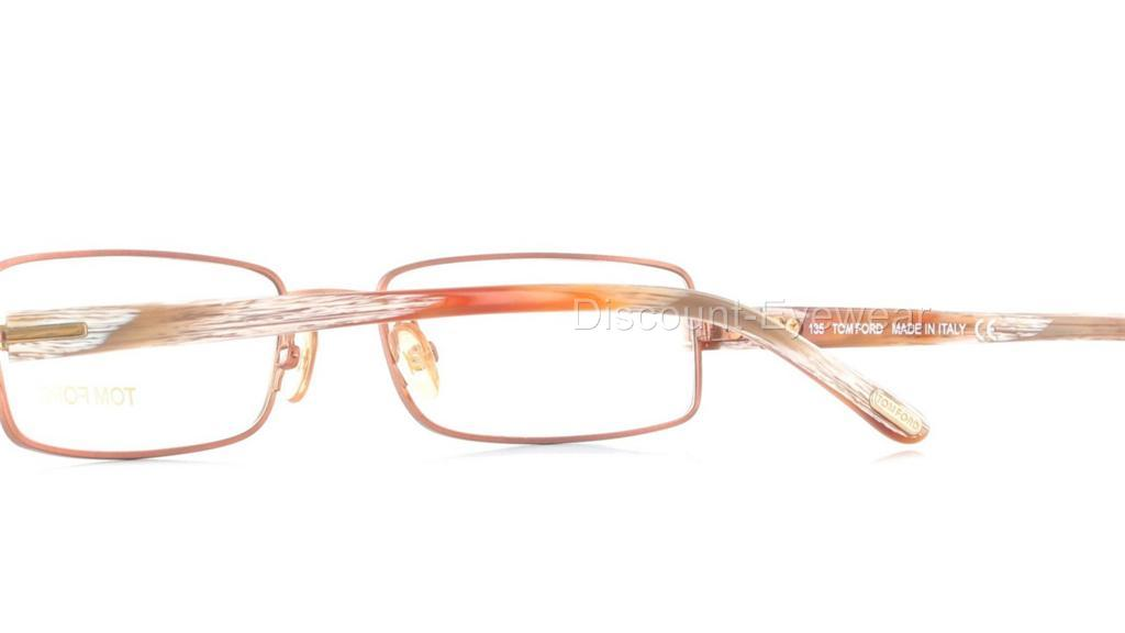 Designer Eyeglass Frames Tom Ford : TOM FORD TF5014 Designer EYEGLASS Frame Copper 5014