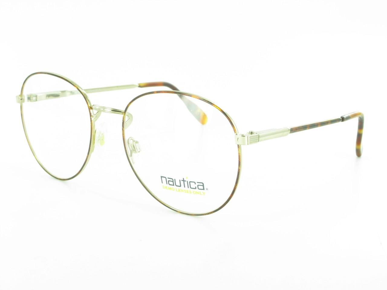 Large Designer Eyeglass Frames : Large Round NAUTICA J6 EYEGLASSES Mens or Womens Designer ...