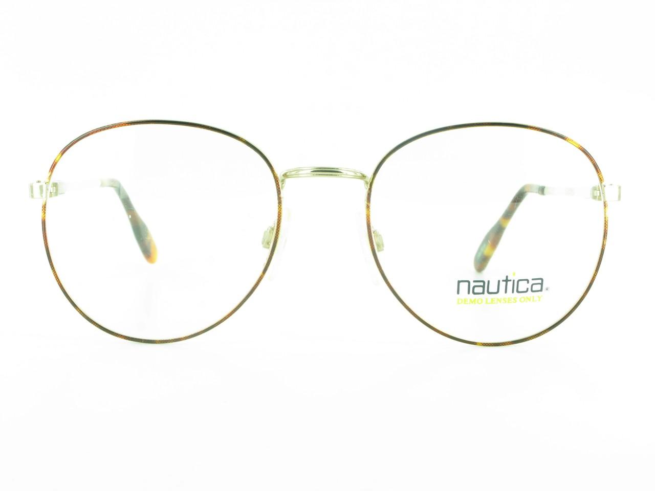 Large Round NAUTICA J6 EYEGLASSES Mens or Womens Designer ...