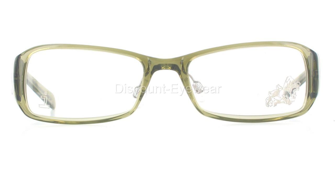 Green Eyeglass Frames Plastic : SCANDINAVIAN Green 2291 Plastic / Titanium EYEGLASS FRAME ...
