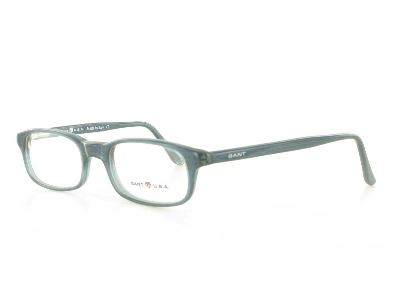 Eyeglass Frames Modern : Gant U s A G022 Modern Plastic Blue Rectangular Womens ...