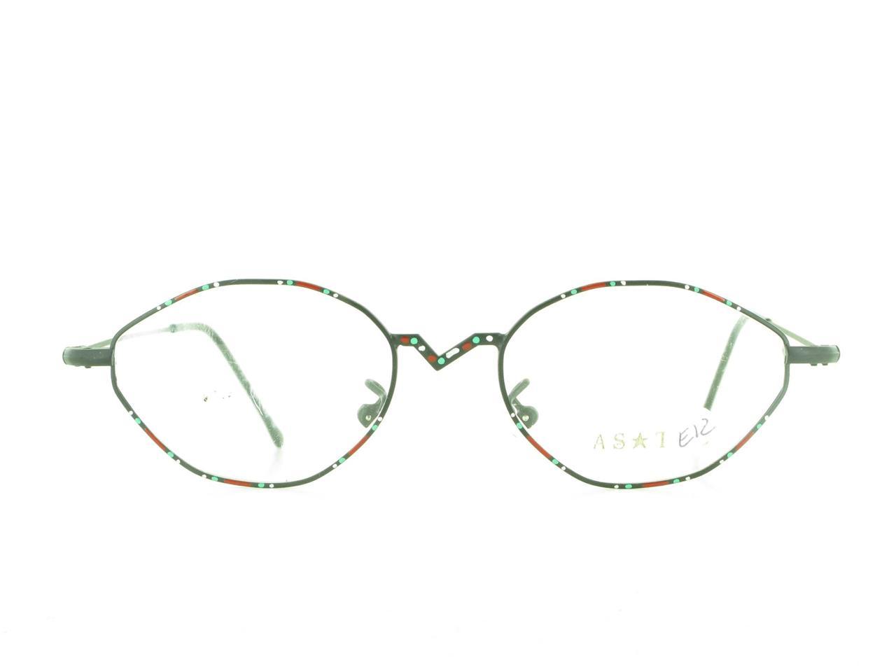 Unique Metal Eyeglass Frames : Unique Hand Painted ASTRO EYEGLASS FRAMES Italy Womens ...