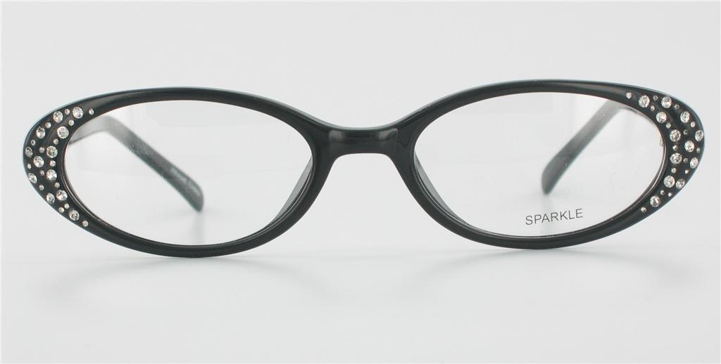 Bling eyeglass frames