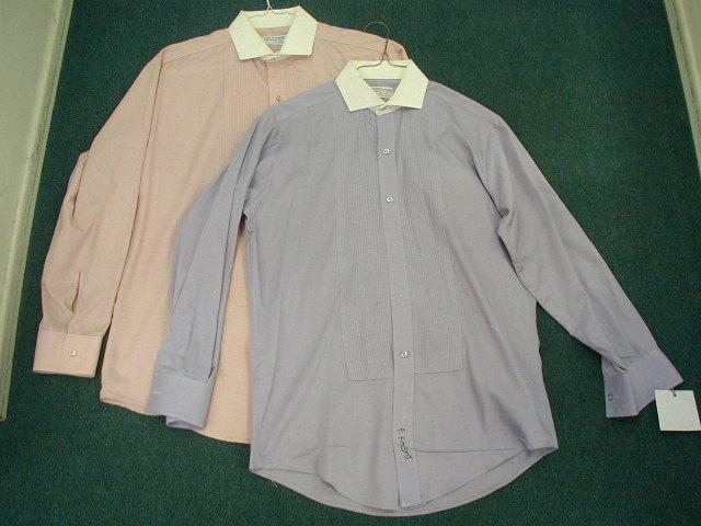 White Collar Pink Lavender Formal Dress Shirts Ebay