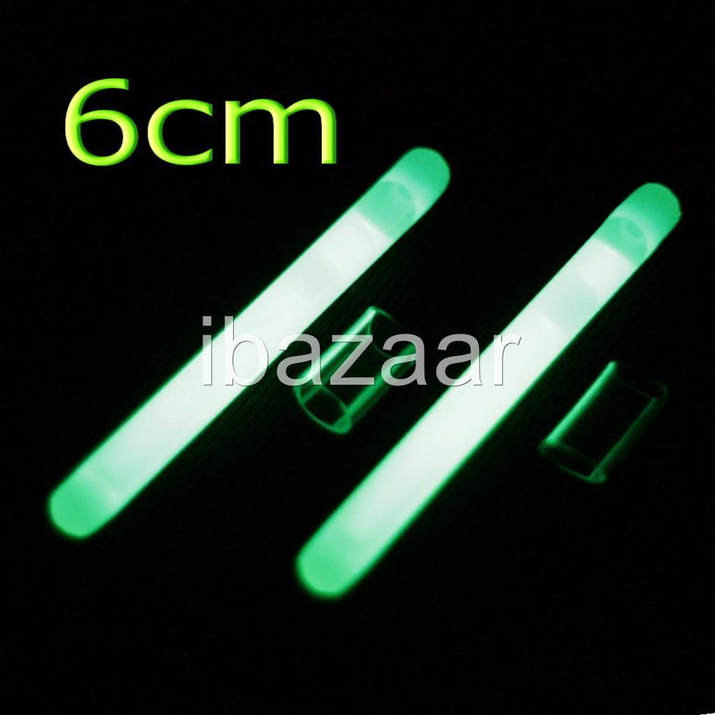 50 x 60mm night fishing fluorescent glow stick ozseller for Fishing glow sticks