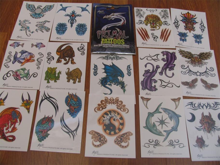 Primal-Temporary-Tattoos-50-pieces