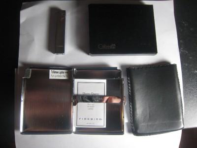 New-Colibri-Firebird-Cigarette-Case-w-Built-in-Lighter