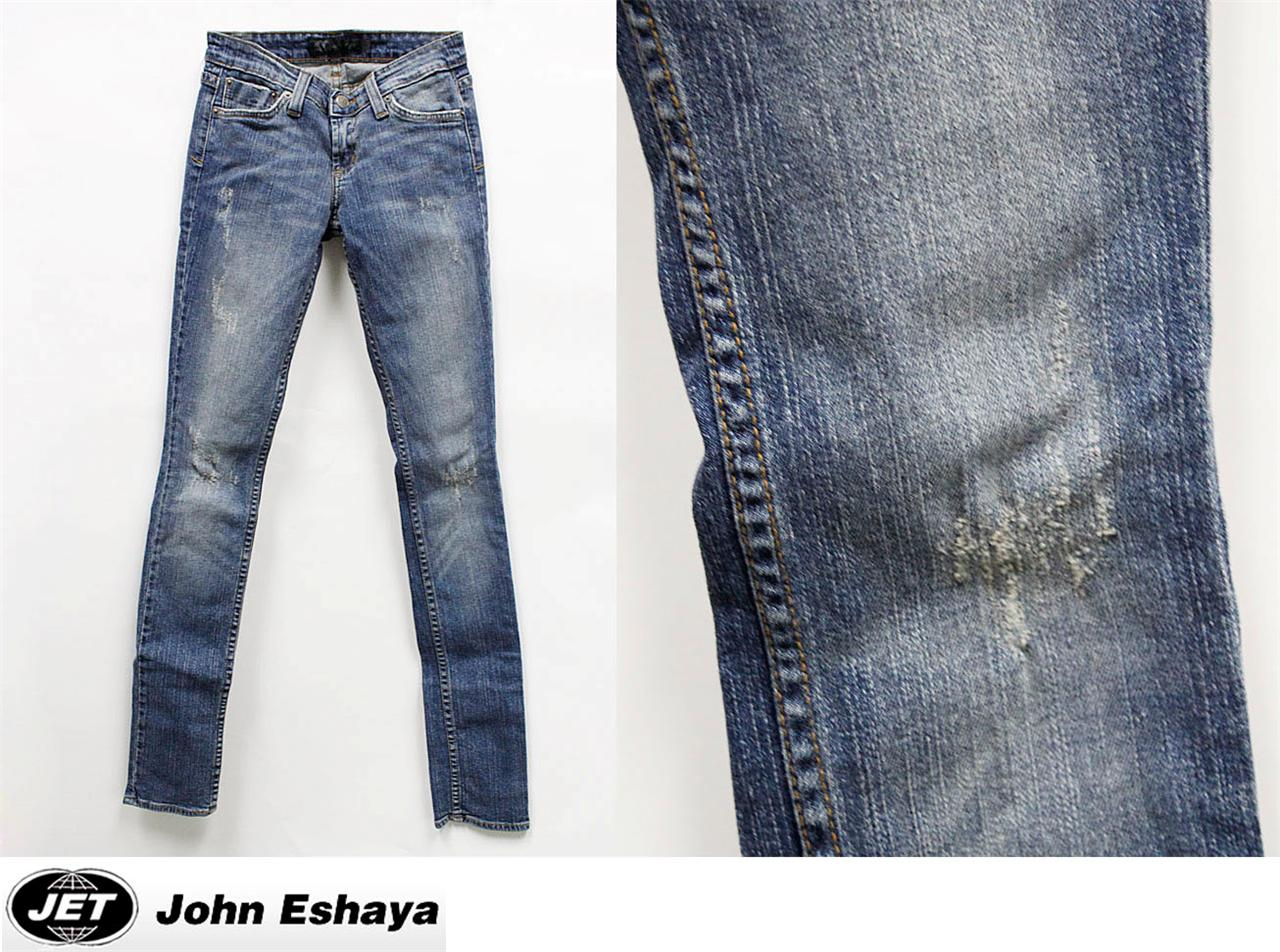 Jet By John Eshaya Jeans Sfss Scratch Fad