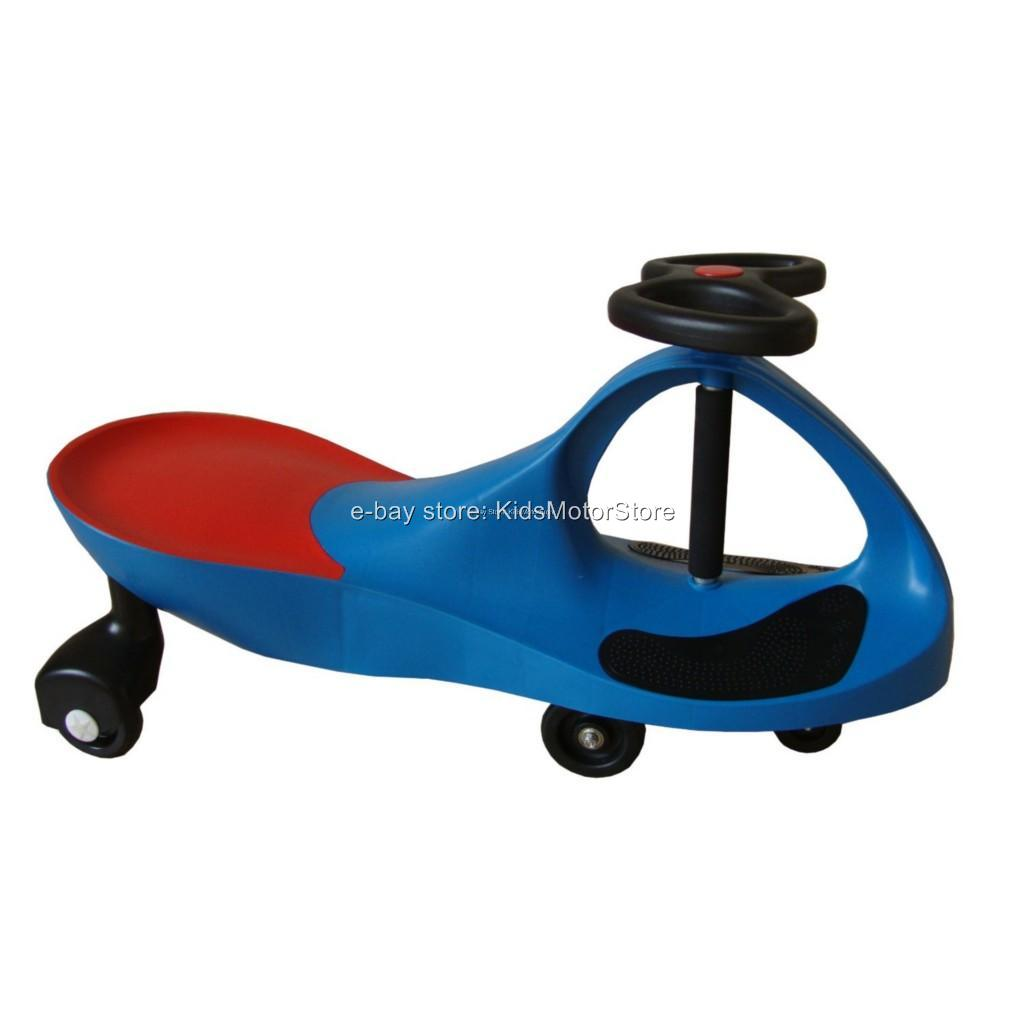 New Sweet Purple Wiggling Wiggle Race Car Ride On Scooter ... Kids Sitting Scooter