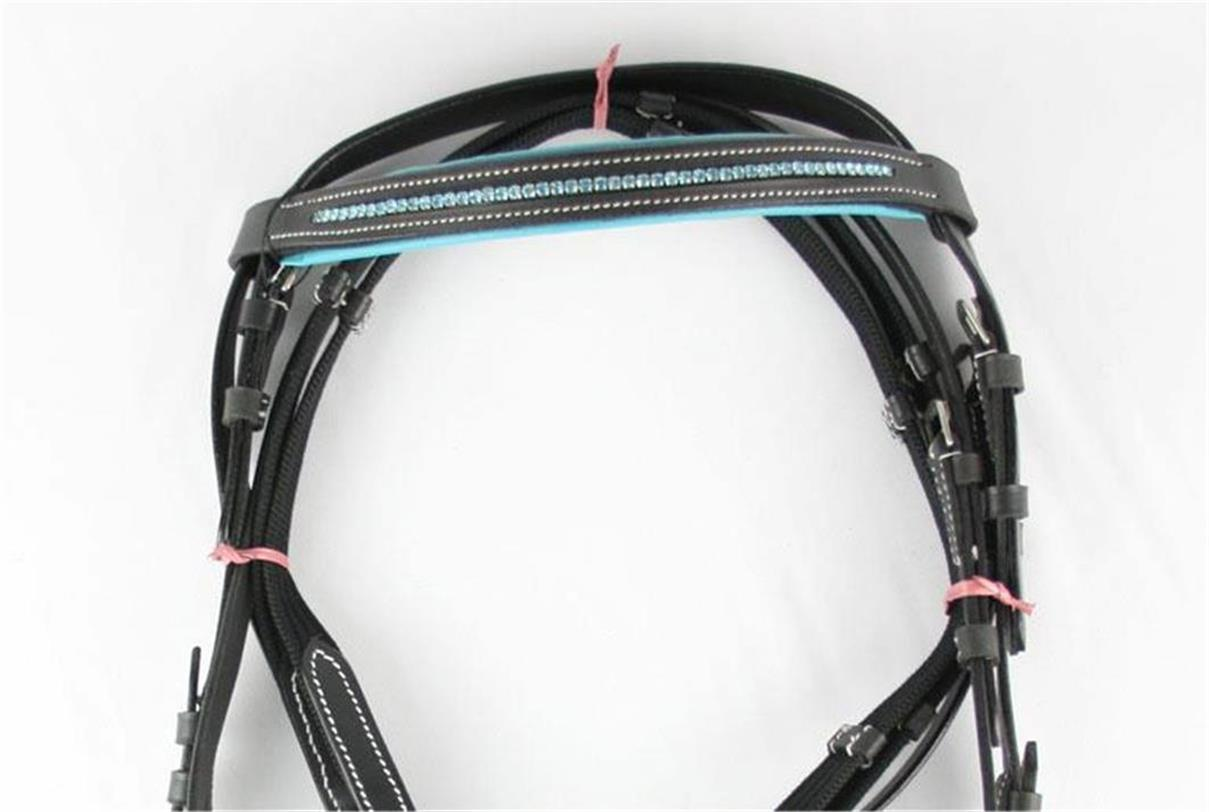 REDUCED-MUST-GO-Stunning-Pink-Blue-Purple-Diamonte-Diamante-Bridle-ALL-SIZES