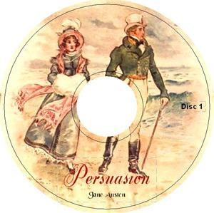 PERSUASION by Jane Austen iPod Audiobook CD Anne Elliot