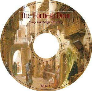 THE FORTIETH DOOR by Mary Hastings Bradley iPod AudioCD