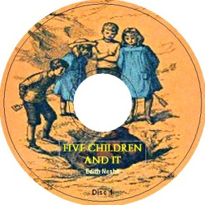 FIVE CHILDREN AND IT by E Nesbit iPod Audiobook CD