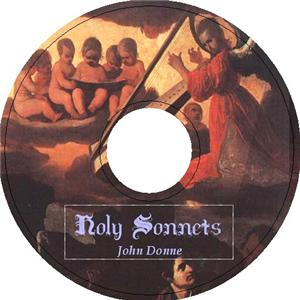 HOLY SONNETS by John Donne 1 AudioCD DEATH BE NOT PROUD