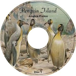 PENGUIN ISLAND by Anatole France iPod Audiobook CD