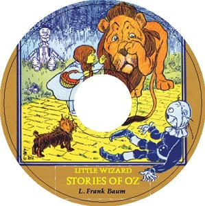 LITTLE WIZARD STORIES OF OZ by L Frank Baum iPod CD