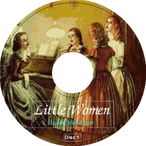 LITTLE WOMEN Louisa May Alcott 17 Audio CDs Meg Jo Beth