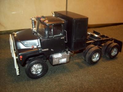vintage ertl blueprint kit rubber duck convoy mack truck 1. Black Bedroom Furniture Sets. Home Design Ideas
