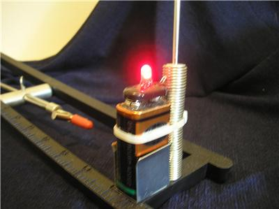 Blinking red led ice fishing tip up lights christmas for Tip up lights for ice fishing