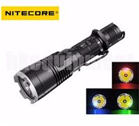 NiteCore MH27 Cree XP-L HI V3 RGB RED GREEN BLUE LED 1000lm 462m Flashlight