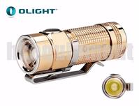 OLIGHT S1 CU Baton Rose Gold Copper Cree XM-L2 Magnetic EDC Flashlight LIMITED