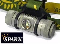 Spark SD6-500CW 460NW Cree XP-L LED Headlamp Headlight+Magnetic Pad+Clip
