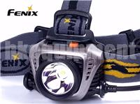 Fenix HP30 Cree XM-L2 18650 LED Headlight with USB Power Charger Output Grey