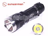 SUNWAYMAN C23C Cree XM-L2 U3 1000lm CR123A 18650 USB Rechargeable Flashlight