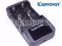 Keeppower L2 LCD AA C D 18650 26650 Li-ion Battery USB Charger