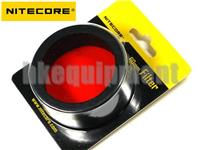 NiteCore 60mm Lens Cap Filter TM11, TM15, MH40, EA8 Flashlight NFR60 NFG60 NFB60 NFD60