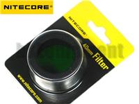 NiteCore 40mm Lens Cap Filter for SRT7 MH25 P25 EA4 EA4W Flashlight NFR40 NFG40 NFB40 NFD40
