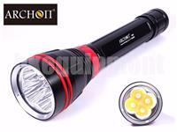 ARCHON DY02 WY08 4x CREE XP-L LED Diving Snorkeling Scuba 26650 Flashlight