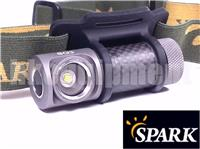 Spark SG3 CW / NW / HCRI Carbon Headlight Tasklight Wristband Flashlight