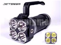 JETBeam EYE40 4x Cree XM-L2 3150lm Flashlight+12v Car Charger