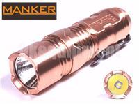 MANKER TimeBack CU Copper Cree XP-L LED Magnetic Control Flashlight