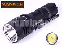 MANKER Quinlan U11 Cree XP-L V5 LED 1050lm 18650 USB Flashlight 2016