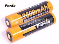 Fenix 18650 ARB-L18 Protected 3.6v 2600mAh Li-ion Rechargeable Battery x2