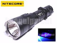 NiteCore MH27 UV Cree XP-L HI V3 RED BLUE UV 365nm LED 1000lm 462m Flashlight