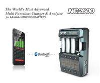 SKYRC NC2600 NiMH NiCd BATTERY CHARGER ANALYZER IPHONE / ANDROID APP
