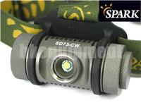 Spark SD73 Cree XM-L2 T6 LED 3x AAA Flashlight Magnetic Headlight