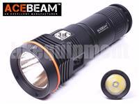 ACEBeam D45 Cree XHP70 5000k LED 4000lm 200m Diving Scuba Underwater Flashlight