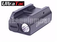 UltraTac X5 Cree XP-G2 S4 LED AAA 210lm LED Rail Mount Pistol Hand Gun Flashlight