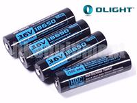 Olight HDC3500 Rechargeable 18650 10A Battery X7 Marauder ORB-186S35 3500 4pcs