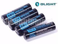 Olight HDC3500 Rechargeable 18650 10A Battery X7 Marauder ORB-186S35 3500 4pcs