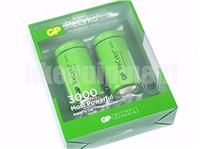 GP Recyko+ C 3000 Rechargeable LSD NiMH 1.2v Battery x2